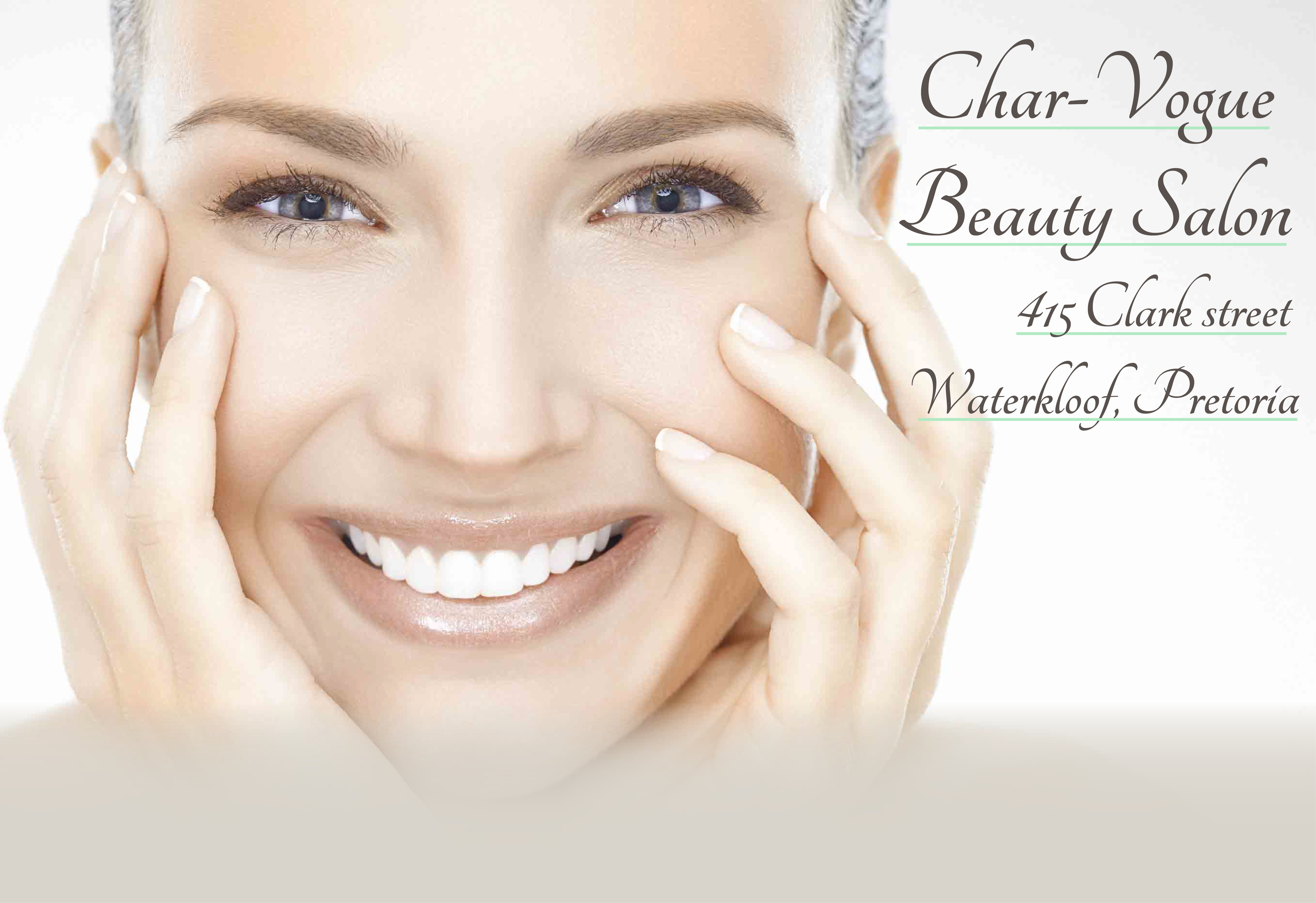 Banner image of woman illustrating beautiful skin